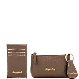 Dooney & Bourke Pebble Grain Leather 3PC Boxed Gift Set (Introduced by Dooney & Bourke at $98 in Jan 2017)