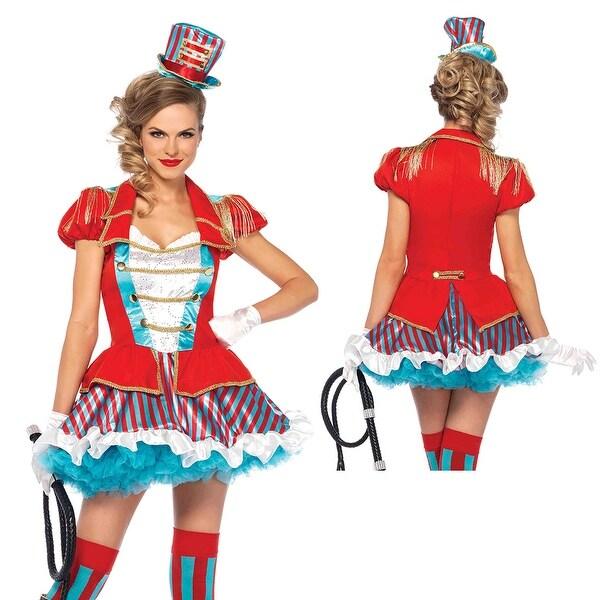 Womens Ravishing Ring Master Circus Costume  sc 1 st  Overstock.com & Shop Womens Ravishing Ring Master Circus Costume - Free Shipping ...