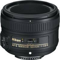 Nikon AF-S NIKKOR 50mm f/1.8G Lens (Open Box)