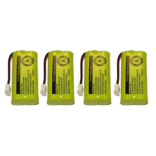 Replacement VTech 6010 Battery for BT184342 / BT284342 Battery Models (4 Pack)