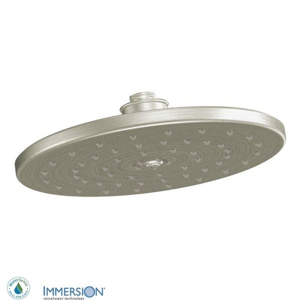 """Moen S112EP 10"""" Rainshower Shower Head with 1.75 GPM Flow Rate from the Waterhill Collection"""
