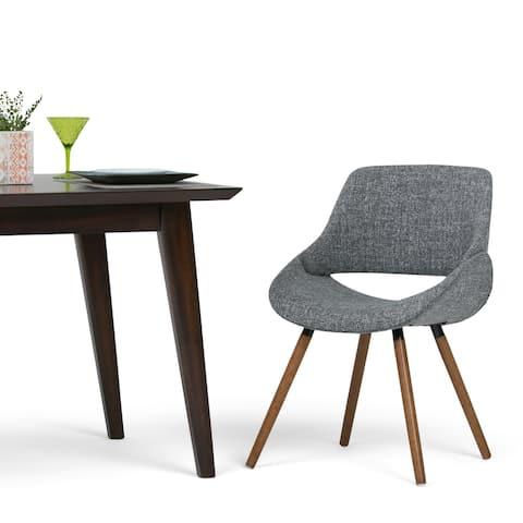 "WYNDENHALL Malone Mid Century Modern Bentwood Dining Chair - 20.9""w x 22.8""d x 30.9""h"