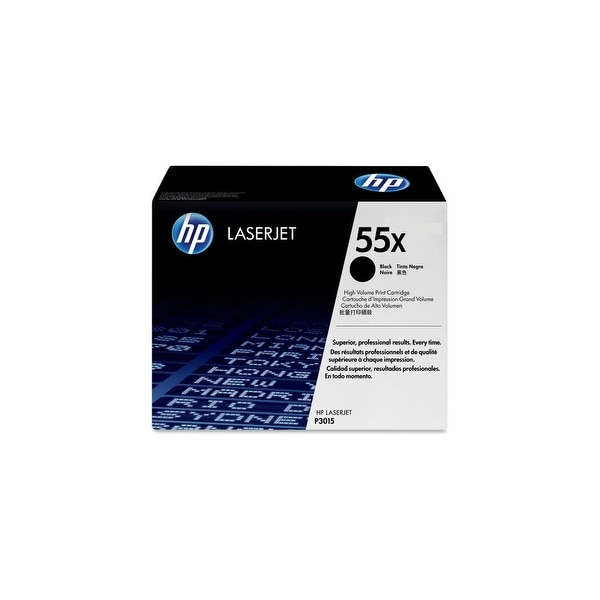 Hewlett Packard CE255XC HP CE255XC High Yield Black Contract Original LaserJet T