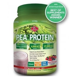 Olympian Labs - Pea Protein - Berry Flavor