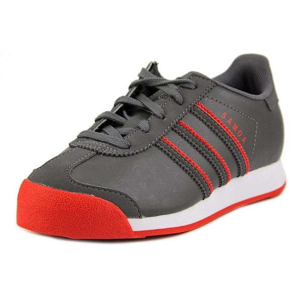 Adidas Samoa C Youth Synthetic Gray Fashion Sneakers