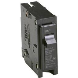 Eaton BR120 Single Pole Circuit Breaker, 20 Amp