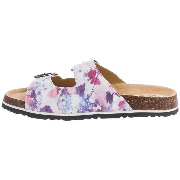 JBU Womens Ellen Too Open Toe Casual Slide Sandals
