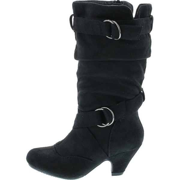 Pauline-38 Kitten Heel Boots