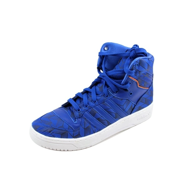 Adidas Men's Rivalry Hi Blue/Blue-White New York Knicks D65196