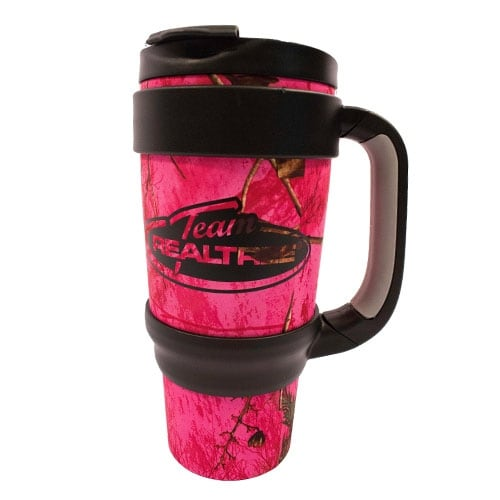 Evolution Design Big Game Travel Paradise Pink 800 ml Mug w/ Tampered Bottom