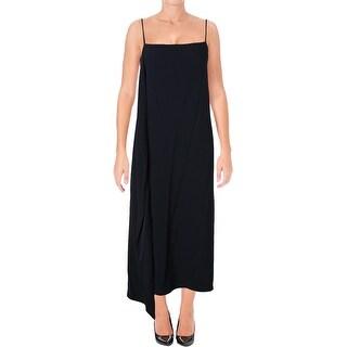 Helmut Lang Womens Party Dress Side Drape Asymmetric