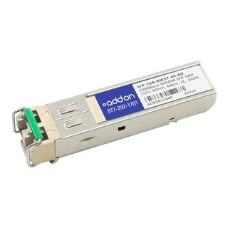 Add-On MSA & TAA Compliant SFP Plus 1531.90 nm LC Transceiver