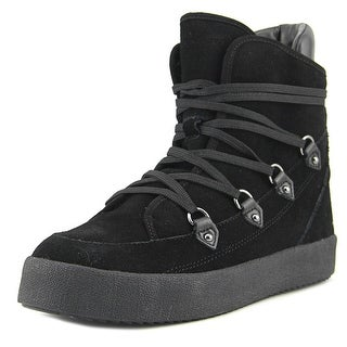 Kendall + Kylie Darby Women Suede Black Fashion Sneakers