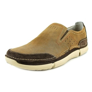 Clarks Trikeyon Step Round Toe Leather Loafer