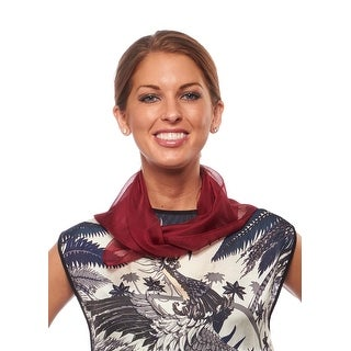 Greatlookz Get Up and Go Sheer Square Scarf