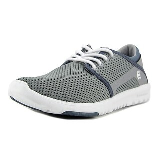 Etnies Scout Boy Grey/White/Green Athletic Shoes