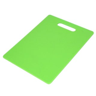 Unique Bargains Home Kitchen Resin Fruit Vegetable Meat Cutting Chopping Table Mats Board Green