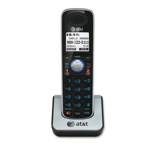 At&t(r) at&t tl86009 dect 6.0 accessory handset with caller id/call waiting for tl86109 - Silver