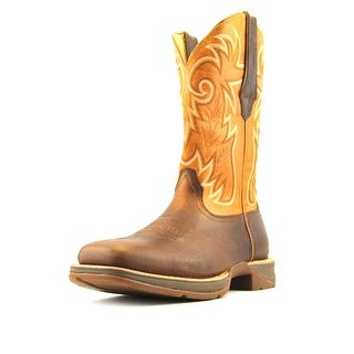 "Durango 12"" Ramped Up Rebel   Square Toe Leather  Western Boot"