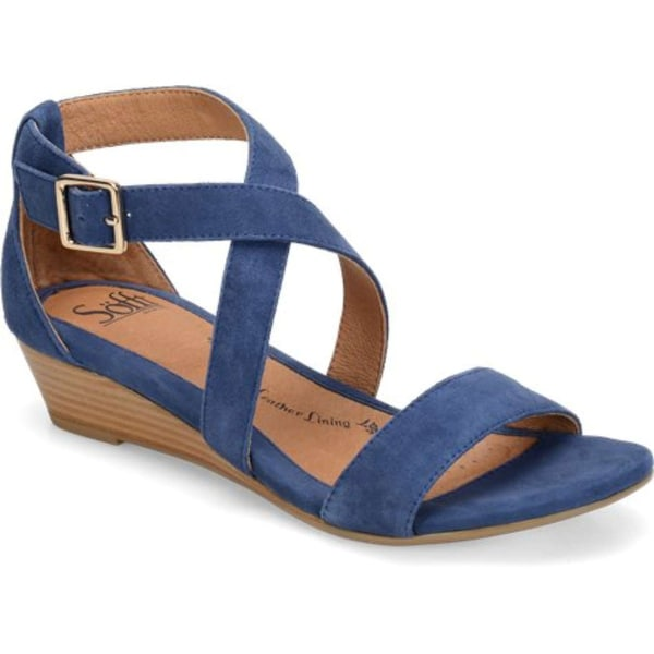Sofft Womens Innis Leather Open Toe Casual Ankle Strap Sandals