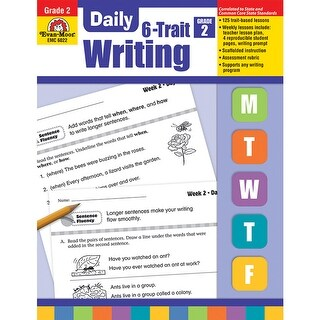 Daily 6 Trait Writing Gr 2