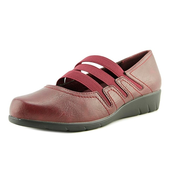 Easy Street Birdie Women W Round Toe Leather Mary Janes