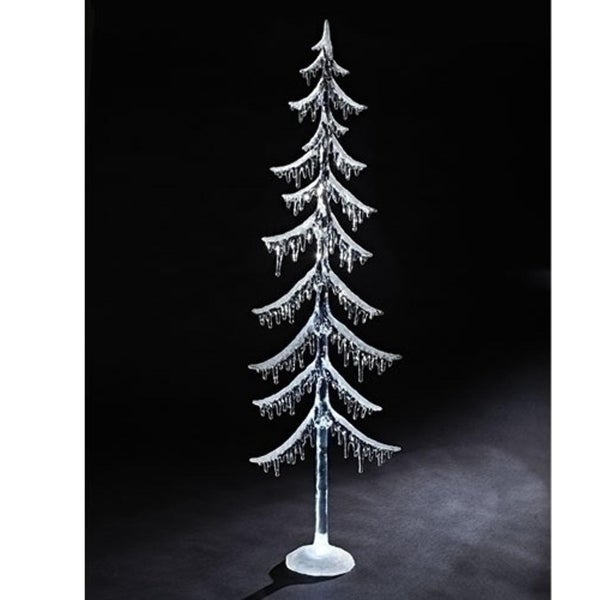 "38"" LED Iced Tree With Warm Light"