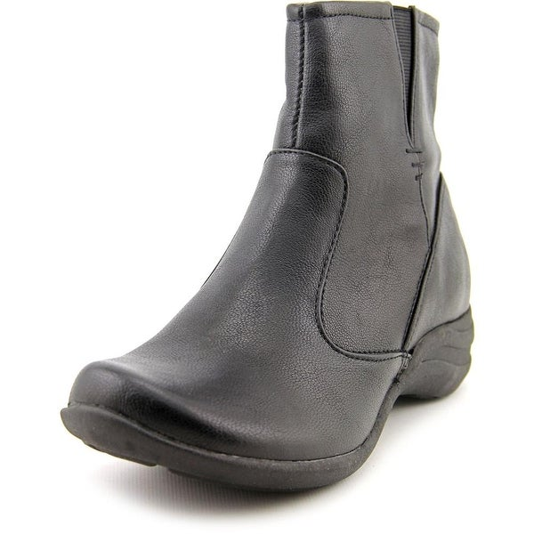 Hush Puppies Fiona Alternative   Round Toe Synthetic  Ankle Boot