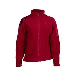Rocky Outdoor Jacket Womens Full Zip Fleece Camo Mossy Oak