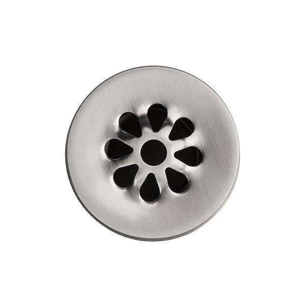 Premier Copper Products D 207bn 1 5 Inch Non Overflow Grid Bathroom Sink Drain Brushed Nickel Overstock 10139159