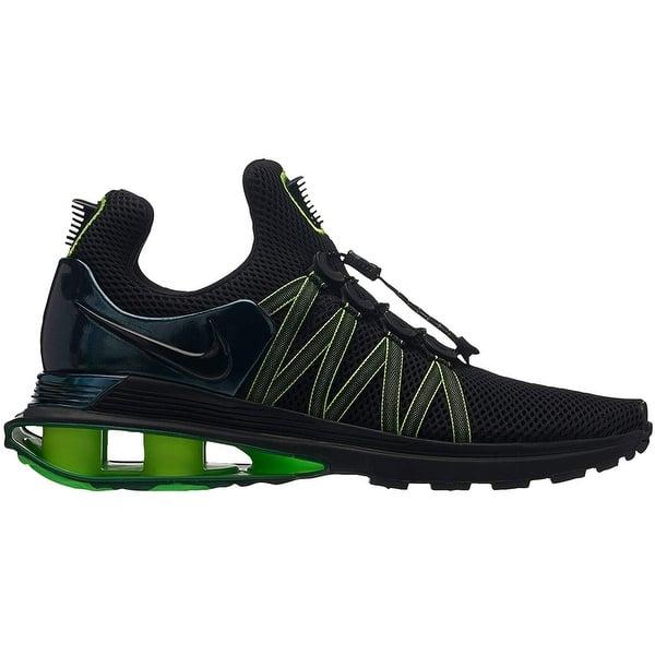 profondità Lufficio Marina Militare  Shop Nike Mens Shox Gravity Fabric Low Top Lace Up Running Sneaker -  Overstock - 28248153 - Gunsmoke/white-gunsmoke - 4
