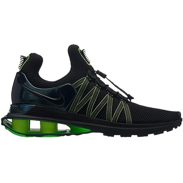 Nike Mens Shox Gravity Fabric Low Top Lace Up Running ...