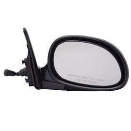 Pilot Automotive TYC 4720111 Black Passenger/ Driver Side Manual Remote Replacement Mirror for Honda Civic