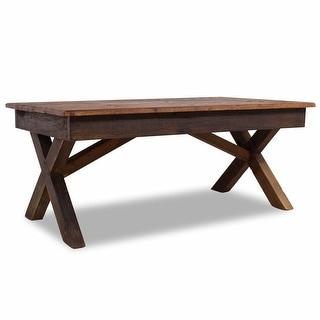 """vidaXL Coffee Table Solid Reclaimed Wood 43.3""""x23.6""""x17.7"""""""