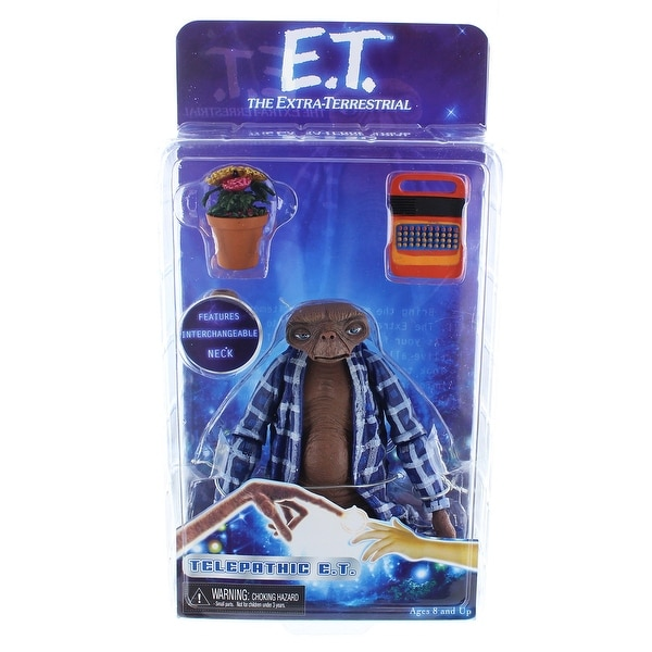 "E.T. the Extra-Terrestrial 7"" Action Figure: Telepathic E.T. - multi"