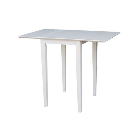 International Concepts Small Rectangular Drop-leaf Shaker-style Dining Table