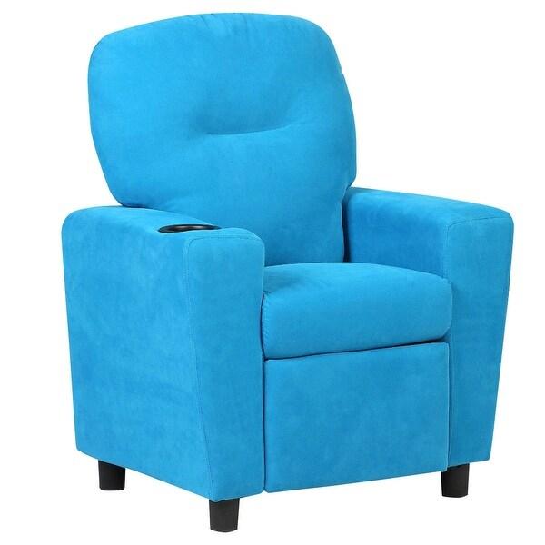 BL/BN Kids Recliner Arm chair-Blue