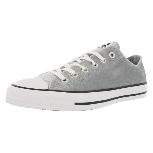 40b6cda8b02e0e Shop Converse Chuck Taylor Ox Velvet Athletic Women s Shoes Size ...