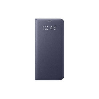 Samsung Galaxy S8 LED Wallet View, Orchid Grey