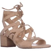 Vince Camuto Fauna Lace-up Dress Sandals, Tumbleweed Suede
