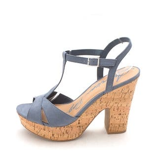 7ab727603b5 American Rag Womens Keira Open Toe Casual T-Strap Sandals. 5 of 5 Review  Stars. 3 · Quick View
