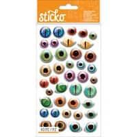 Sticko Halloween Stickers-Creepy Eyeballs