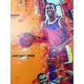 Basketball Poster Black Sports History (18x24) - Multi-Color - Thumbnail 3