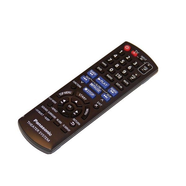 OEM Panasonic Remote Control Originally Shipped With: SAXH50, SA-XH50, SCXH50, SC-XH50