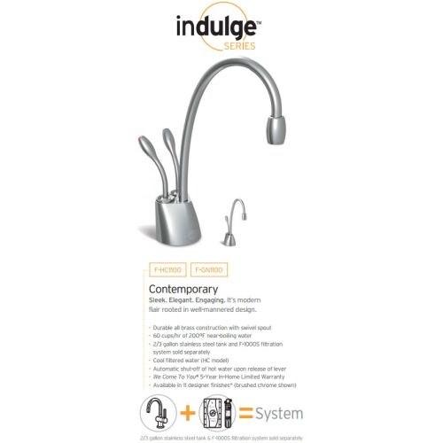 F-HC-1100SN InSinkerator Instant Water Dispenser//Satin Nickel Tank Sold Separate
