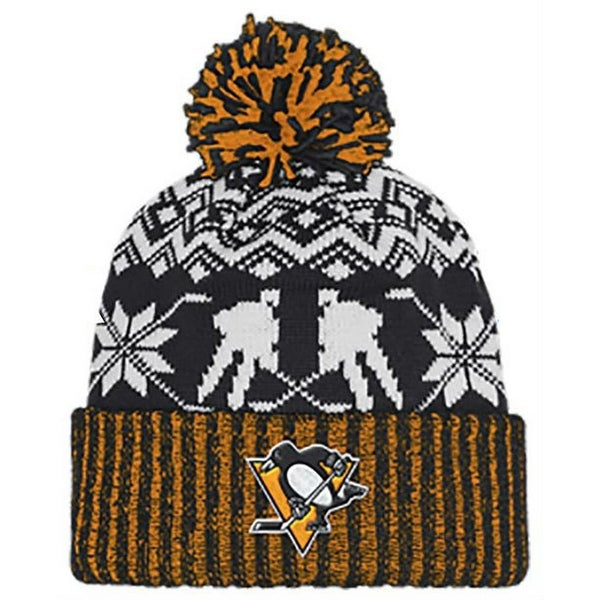 1d5a2618d3296 Shop Adidas Men s NHL Pittsburgh Penguins Stocking Knit Hat Beanie Winter  11FIZ - Free Shipping On Orders Over  45 - Overstock - 26051683