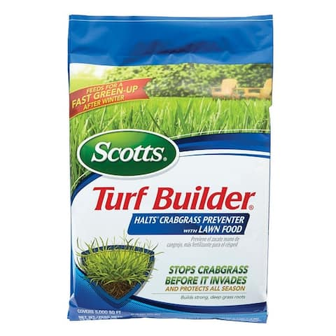 Scotts 32367F Turf Builder Lawn Fertilizer With Halts, 5M