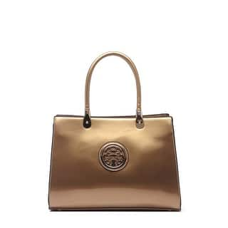 95a32c65da Quick View.  52.99. Style Strategy Kama Patent Leather Bag Gold