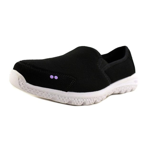 Ryka Harlow Black/Purple Flats