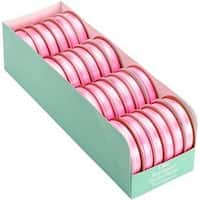 Hot Pink - Sheer Elegance Boxed Ribbon Assortment 24/Pkg
